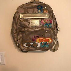 Handbags - Coach backpack